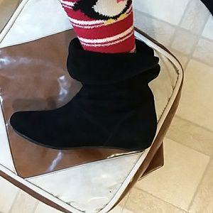 Gianni Bini Shoes - Black suede boots